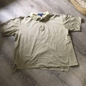 Alan Flusser Golf  100% Cotton Shirt